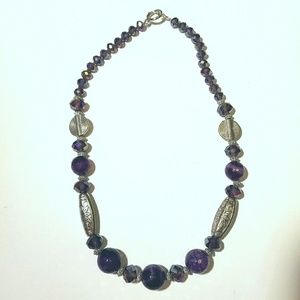 Jewelry - Agate and Crystal Necklace